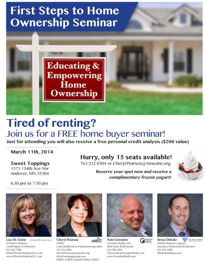 print first time home buyer flyer