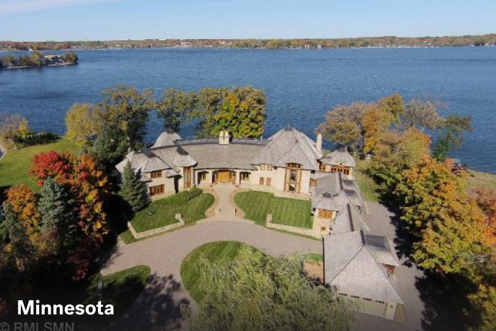 Most expensive lake homes in detroit lakes mn greenlaw for How much does a lake house cost